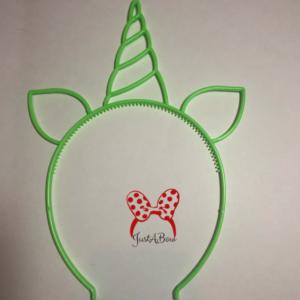 unicorn headband, unicorn horn, birthday party headband, crazy hair day headband, unihorn